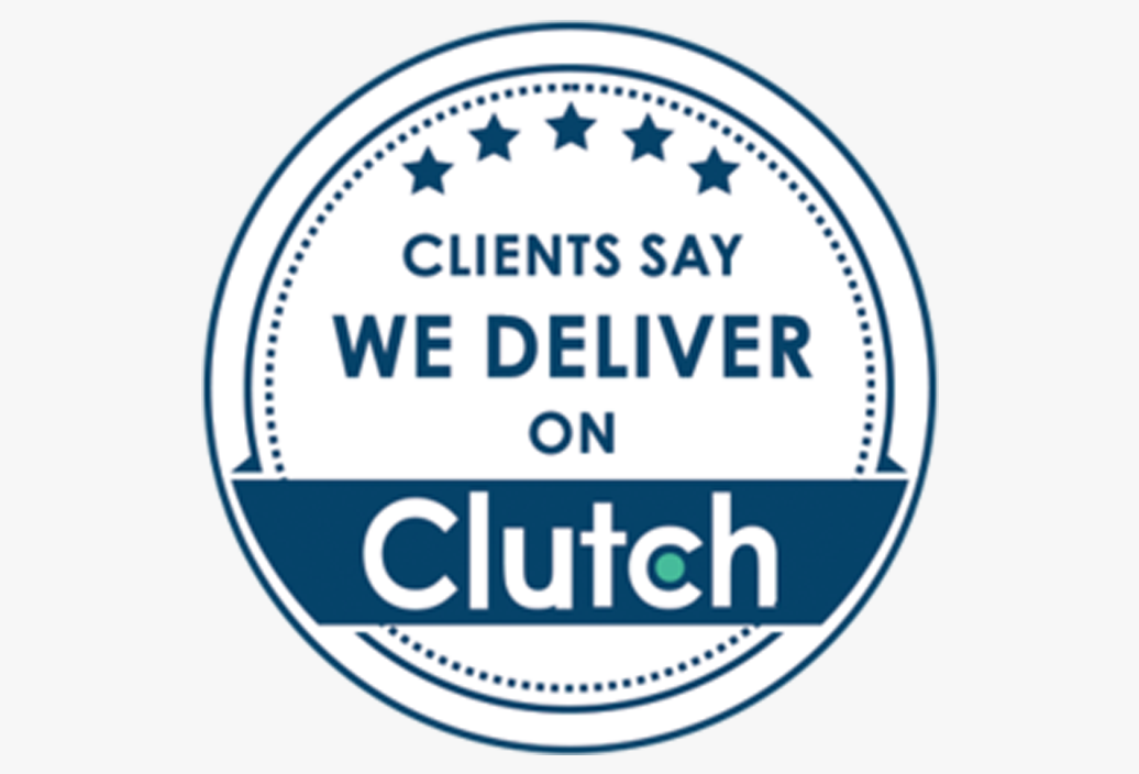Our clients say we deliver on Clutch